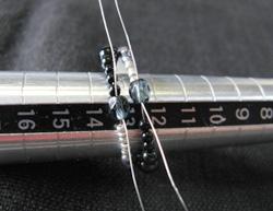 アイオライトリングの作り方14